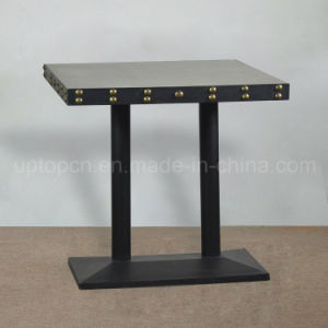 New Style Square Table Solid Wood Cafe Table (SP-RT491) pictures & photos