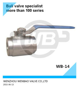 Forged Steel F304L Ball Valve Dn32 6000 Wog Price pictures & photos