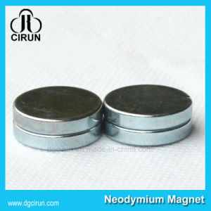 Strong Powerful NdFeB Neodymium Disc Shaped Magnets pictures & photos