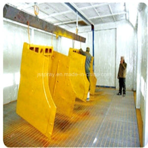 Professional Powder Coating Line with Baking Room