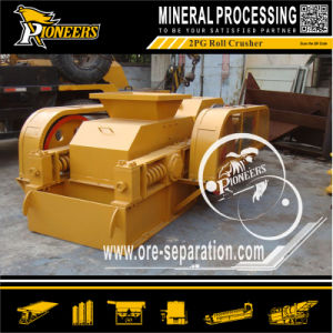 Rock Ore Crushing 2pg Fine Double Rolls Crusher Equipment pictures & photos