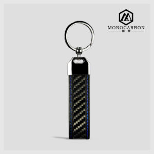 High Quality Carbon Fiber Metal Key Tag pictures & photos