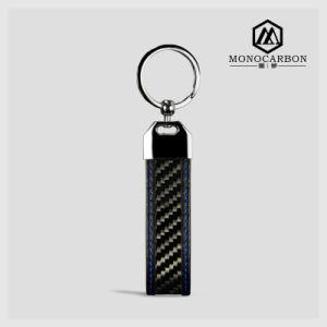High Quality Carbon Fiber Metal Key Tag pictures & photos