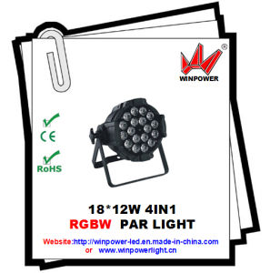 LED PAR Light 18*12W for Stage Lighting
