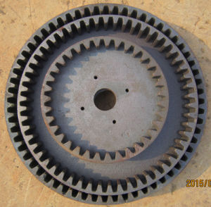 Concrete Mixer Use Iron Casted Gears pictures & photos