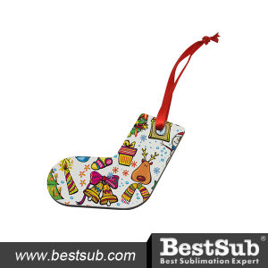 Bestsub Hardboard Ornament Stocking (HBOM09) pictures & photos