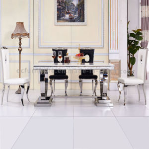 2016 Hot Selling Modern Dining Furniture Dining Table with Marble Top pictures & photos