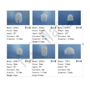 9mm Focus Length HDPE Materials Professional Fresnel Lens for LED Light pictures & photos