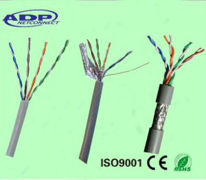 Cat 5e Type and 8 Number of Conductors Cat5e UTP LAN Cable with Low Resistance pictures & photos