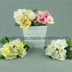High Quality Wedding Rose Bouquet Flower for Decoration (SF12499)
