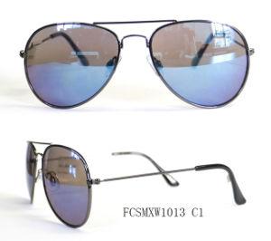 Premium Quality Pilot Design Classical Metal Sunglasses for Unisex pictures & photos