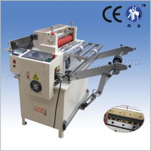 Microcomputer Nickel Foil Cutting Machine with Elevating Rack pictures & photos