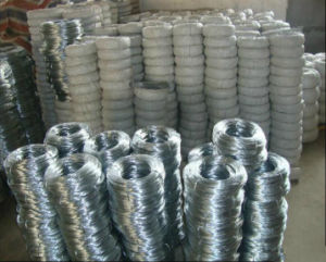 Sri Lanka 18gauge Binding Wire Per Roll Weight/25kg Galvanized Iron Wire pictures & photos