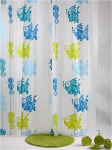 EVA Shower Curtain in Big Lots Supermarket pictures & photos