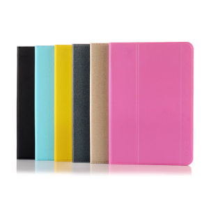 Ultrathin PU Leather Book Flip Tablet Case with Sleep/Awake Function