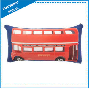 London Bus Printed Polyester Throw Pillow pictures & photos