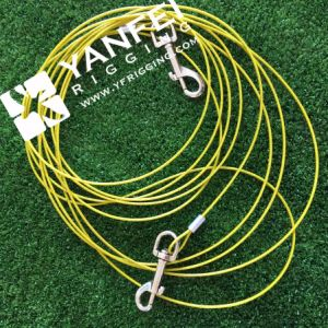3/32′′-5/32′′ Medium Size Dog Tie out Cable with Construction 7*7 pictures & photos