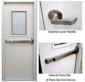 High Quality Fireproof/ Fire Resistance Door Steel Door pictures & photos
