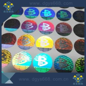 Custom Design Hologram Label pictures & photos