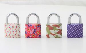 Popular Painted Plating Padlock pictures & photos