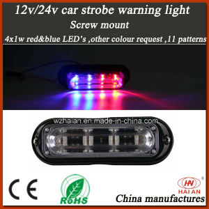 4 LED Waterproof, Car Truck Strobe Emergency Warning Light (TBF-4691L-B) pictures & photos