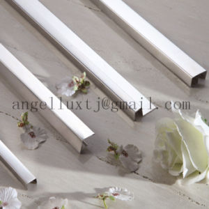 China Gold Color Stainless Steel Shower Door Frame Parts