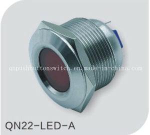 New Type 22mm Waterproof Anti-Vandal LED Metal Pilot Lamp pictures & photos