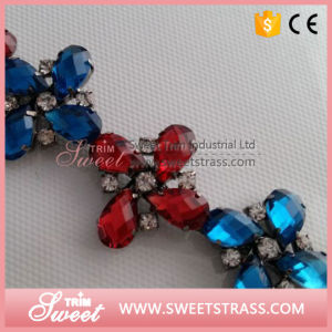 Crystal Rhinestone Beading Trimming Fancy Bridal Chain for Wedding Dress pictures & photos