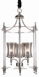 Iron Pendant Lighting, Nickel Finish, for Home Design Styles (SL2247-3) pictures & photos