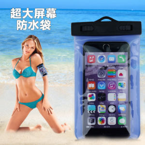Beach Swimming Arm Band PVC Waterproof Mobile Phone Case (YKY7247-2) pictures & photos