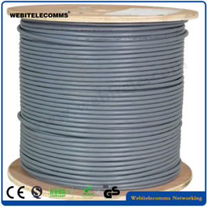 Pure Copper Double Fully Shielded CAT6 FTP Cable pictures & photos