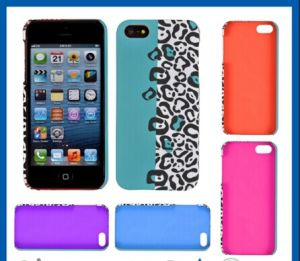 Leopard Print Mobile Phone Case for iPhone 5s pictures & photos