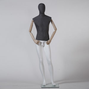 Full Body Male Mannequin with Wooden Arm pictures & photos