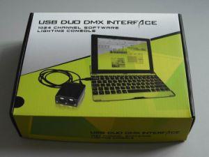 Light Jockey USB Duo DMX Interface Lighting Controller
