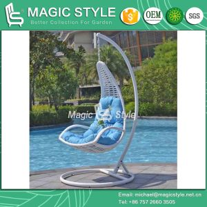 Rattan Swing Wicker Swing Hammock Outdoor Swing Hanging Chair Patio Swing (Magic Style) pictures & photos
