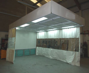 Hot Sale Sanding Room Prep Booth for Car/Furniture pictures & photos