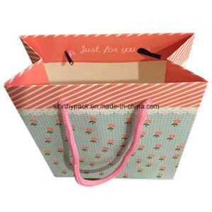 Matt Laminated Art Paper Shopping Gift Paper Bag pictures & photos