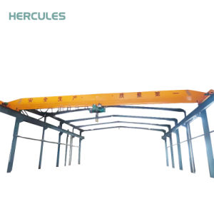 Single Girder Overhead Bridge Cranes with Electric Wire Rope Hoist pictures & photos