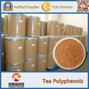 Pure Natral Herbal Healthcare Powder 98% Polyphenol/Green Tea Extract Capsules pictures & photos
