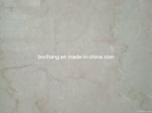 Newly Rose Beige Polished Marble for Decoration Material pictures & photos