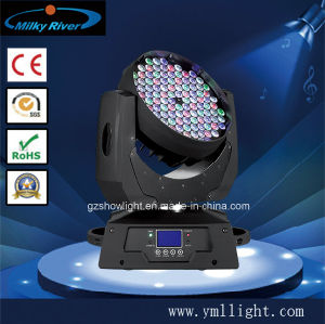 RGBW Color Mixing System LED Moving Head 108PCS 3W Lighting pictures & photos