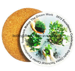 Custom Printed Cup Cork Coaster with Cheap Price pictures & photos