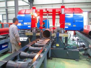 Pipe Prefabrication Band Saw Machine for Cutting Pipes pictures & photos