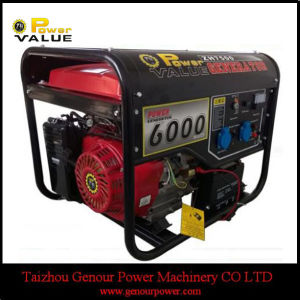Low Price China Portable Electric 6500W Generator pictures & photos