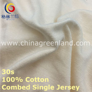 100%Cotton Combed Jersey Knitting Fabric for Men′s T-Shirt (GLLML417) pictures & photos