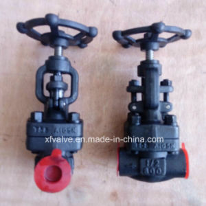 API602 Standard Forged Carbon Steel A105 Globe Valve pictures & photos