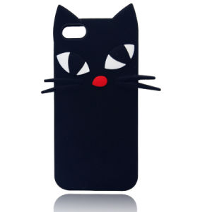 Cat Silicone Cartoon Cat Phone Case for Samsung Galaxy J5 J7 J710 (XSDW-032)