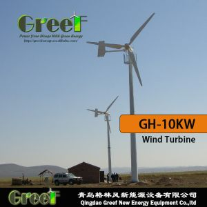 10kw Horizontal Axis Wind Turbine off-Grid and on-Grid System pictures & photos