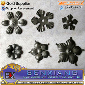 Cast Steel Flowers and Leaves Wholesale pictures & photos