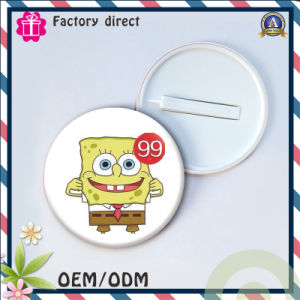 High Quality Factory Tin Button Badge Plastic Badge pictures & photos